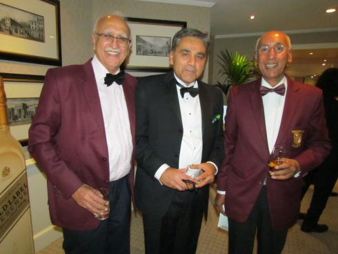 The organisers - Sunil, Neeraj and San. Hope you all enjoyed the party and thank you for coming