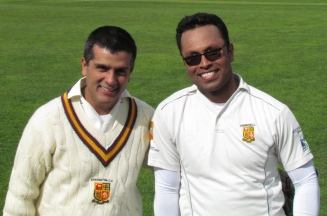 New Record Holders for the 5th wicket - Praveen and Saikat
