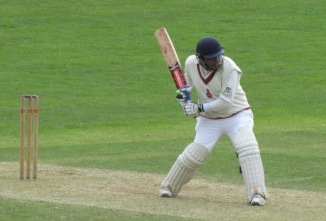 Preetinder (91 not out) leads the charge