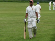 David starts the collapse in the first over