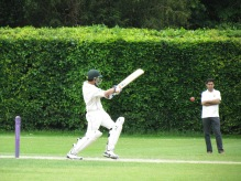 Shahzeb pulls - his favourite shot