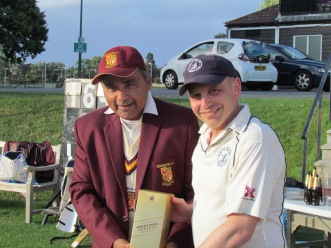 Man of the Match John Jackson for his match-winning 71*