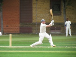 Resistance comes from Matt Edwards who smashes 58 in 38 balls