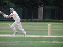Paul McKechnie makes a solid 43 on his debut