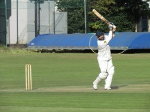 Harsha gets to his fifty