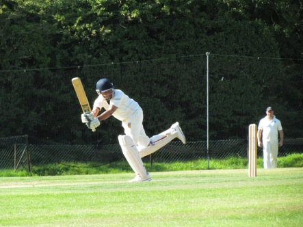 Nitin gets into his stride