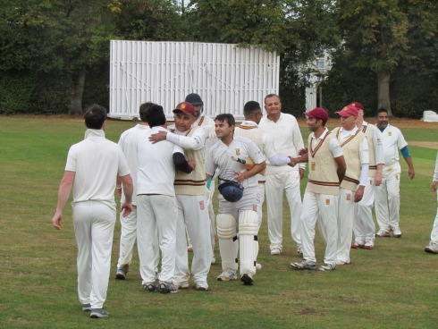 It's all over as Youths gallop to victory with almost 10 overs to spare