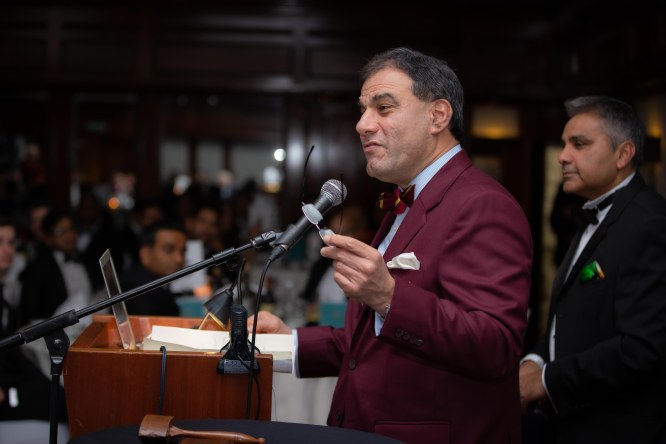 Lord Bilimoria addresses
