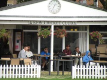Viewing from the pavilion