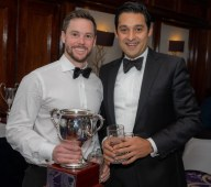 Tim Keleher and Nitin Chaturvedi - Joint winners of the Cricketer of the Year award