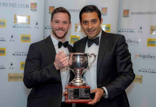 Cricketers of the Year - Tim Keleher, Nitin Chaturvedi