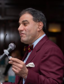 Lord Bilimoria introduces KCC's new Patron....
