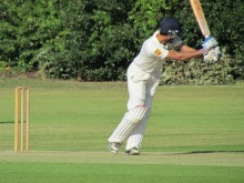 Rohan clips one through the leg side