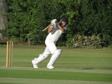 Praveen on the attack