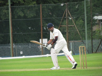 Nitin plays a captain's knock at the top - 59 in 56 balls