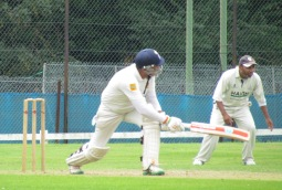 Preet sweeps to 50 in 38 balls