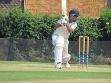 Praveen on his way to 54