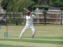 Amit steers past point