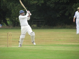 Jai punches off the back foot - a masterclass innings of 59 runs