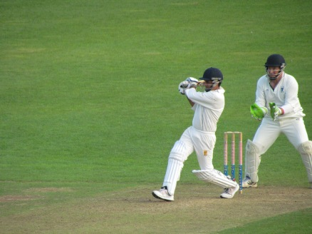 Then a pull as Praveen hits 50 in 45 balls