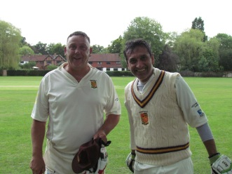 Andy Stokes and Shahzeb Mohammed - unbeaten 5th wicket partnership of 148