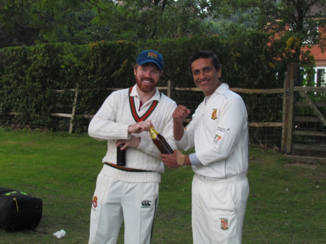 And, of course, Shahzeb for his 76 ball hundred