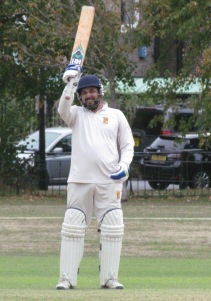 A maiden hundred for KCC in just 67 balls. Well batted, Harsha